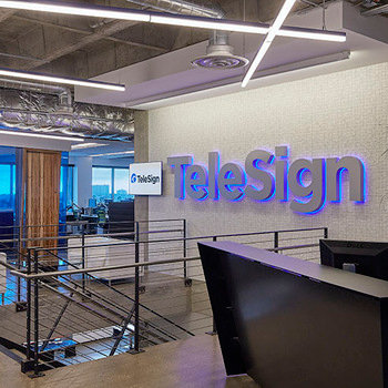 TeleSign Corporation - Welcome to our Reception Area
