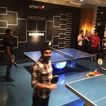 Wonga Technology - Table tennis: our last team outing