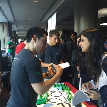 Invoice2go - Invoice2go helping out Interns at Internpalooza 2015!