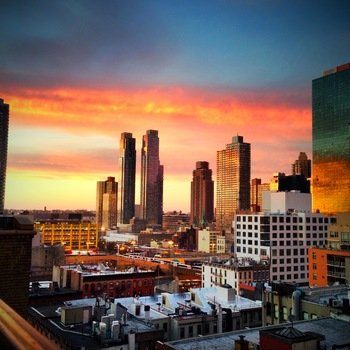 Allure Security Technology Inc. - View from our 10th floor balcony in Midtown