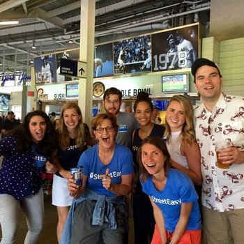 Zillow Group: HotPads, dotloop, Trulia, StreetEasy, Zillow - Company outings like our annual Yankees game remind us that winning is fun!