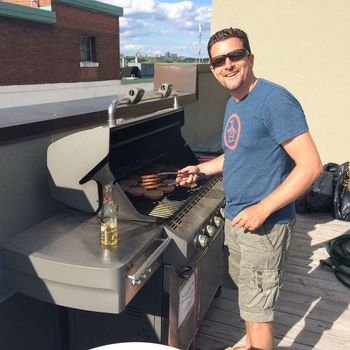 Wave - Kirk, our CEO, grilling burgers for the entire company