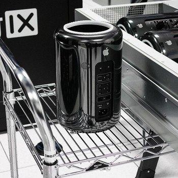 imgix - One of our Mac Pros getting ready to go into production. Yes, we are on a first-name basis with everyone at the Apple store.