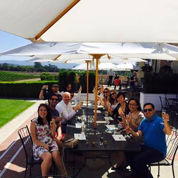 PandaDoc - The team on an outing for wine tasting at Napa, courtesy the company!