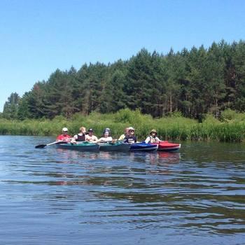 PandaDoc - Canoeing in Belarus!