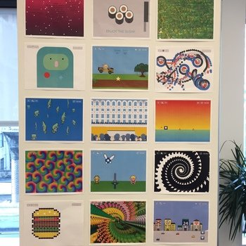 Hopscotch Technologies - Our wall of hopscotch games