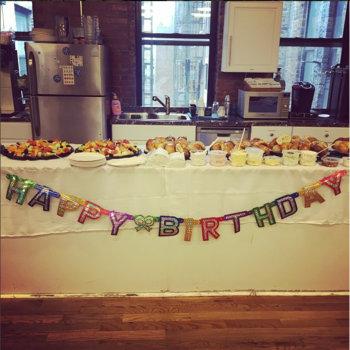 Handy Technologies - Bagel breakfast for Handy turning three on Cinco de Mayo.