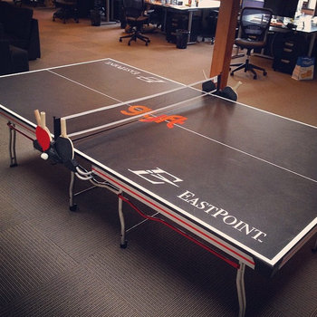 Gyft - There have been some serious ping pong battles in our office.