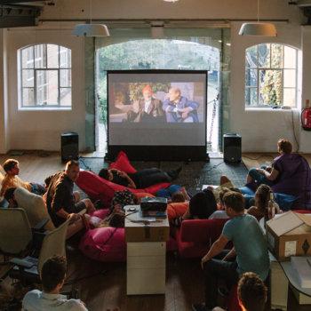 Made by Many - Film night in our London studio