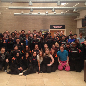 FLUBIT LIMITED - The team at a day out GoKarting!
