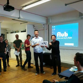 FLUBIT LIMITED - Giving out hackathon prizes