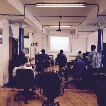 FLUBIT LIMITED - Dan giving a tech talk