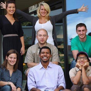 BiggerPockets - Some of the Denver team posing . . .