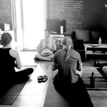 Noom - We bring a yoga instructor in each week to help us stretch away our stress right in the office.