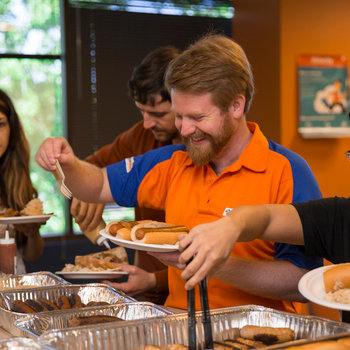 ServiceMax - Free lunch on Orange Thursdays, every Thursday.