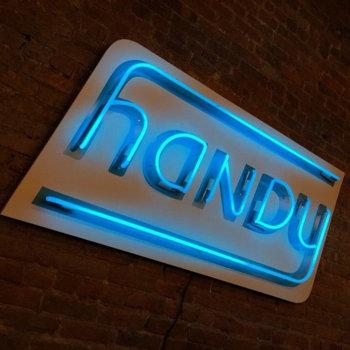 Handy Technologies - Neon lights.