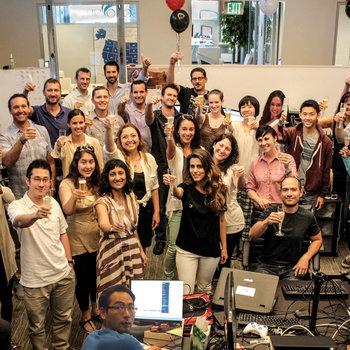 SonoSim, INC. - SonoSim Team celebrates a big release.