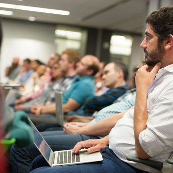 Gilt Groupe - Yonatan Feldman, VP of Gilt's Mobile and Global Engineering, attends one of our popular meetups