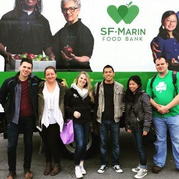 SingleStore - Volunteering at SF Food Bank
