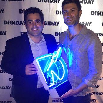 "Pixlee - Pixlee wins ""Best Curation Platform"" at Digiday Signal Awards 2015"