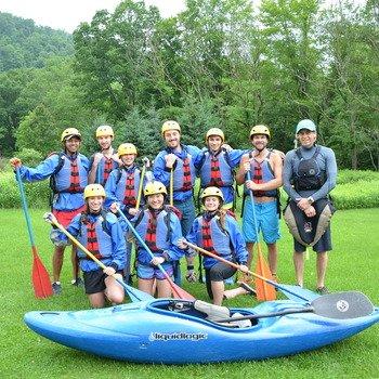 Arcadia Power - the AP team Whitewater rafting in West Virginia!