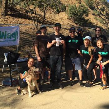 Wag Labs, Inc. - Wag's first Fun Run in Runyon Canyon