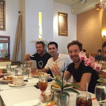 Krue.TV - Team lunch