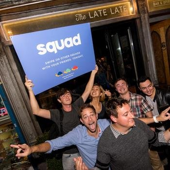 Squad - Fun times at our Friends and Family Launch Party