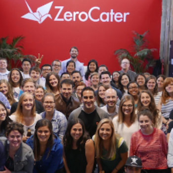 ZeroCater - ZeroCater has grown a ton, but still retains that high-energy startup vibe. It's a great place to learn and take ownership of your career.