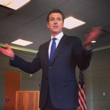 Junyo - Talking education with California Lt Gov Gavin Newsom