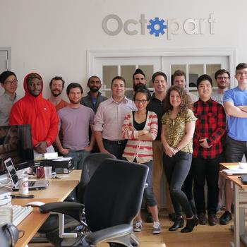 Octopart - Taken in our bright office in the Flatiron.