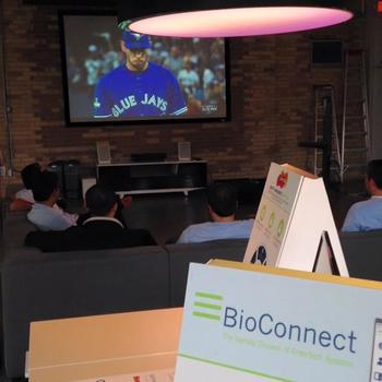 BioConnect - We follow our favourite sports teams on the big screen.