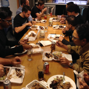 BioConnect - We have group lunch runs to the best spots #food