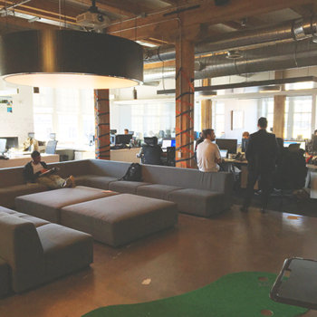 BioConnect - We work in an open concept office space that inspires creativity and collaboration