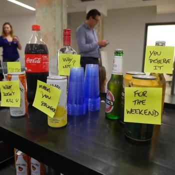LendInvest - Drinks trolley at 4pm sharp on a Friday.