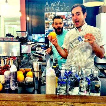 onefinestay HQ - Barista training and espresso martinis